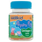 Vitabiotics Wellkid Peppa Pig Omega-3 Flaxseed Oil Soft Jellies