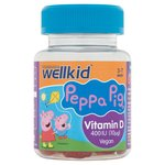 Vitabiotics Wellkid Peppa Pig Vitamin D 400Iu Soft Jellies