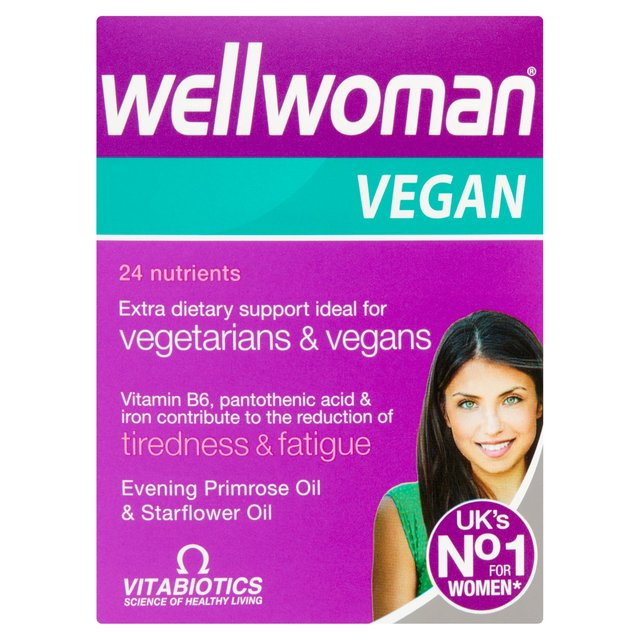 Vitabiotics Wellwoman Vegan Tablets