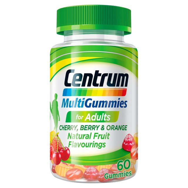 Centrum Multigummies Cherry, Berry & Orange Gummies