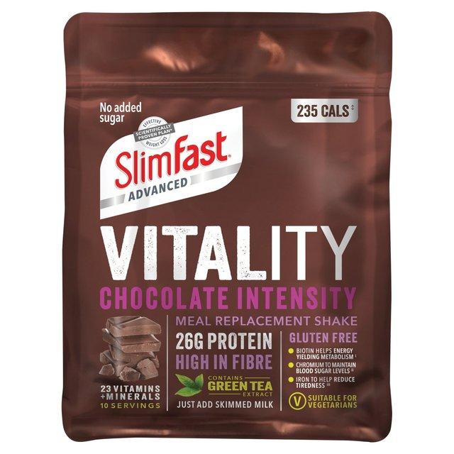 Slim Fast Vitality Chocolate Intensity