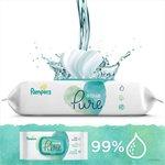 Pampers Aqua Pure Wipes  3 x 48 per pack