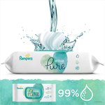 Pampers Aqua Pure Wipes 3 x 48 per pack