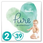 Pampers Pure Protection Size 2 Nappies