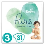 Pampers Pure Protection Size 3 Nappies