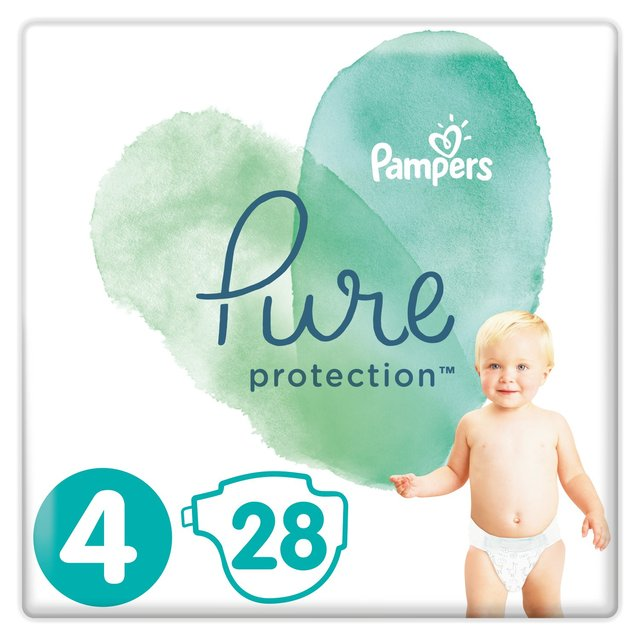 Pampers Pure Protection Size 4 Nappies