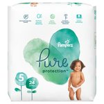 Pampers Pure Protection Size 5 Nappies