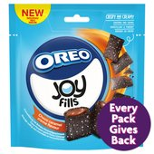 Oreo Joy Fills Chocolate Caramel Cookies Pouch