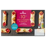 Morrisons 10 Pulled Chicken Burritos