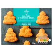 Morrisons Chicken Christmas Trees