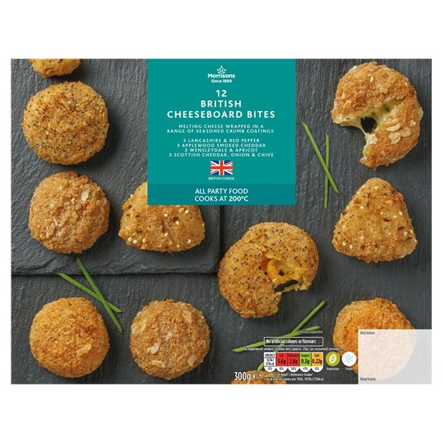 Morrisons Breaded Cheese Selection