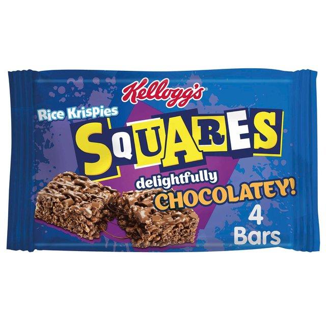 Kellogg's Squares Delightfully Chocolatey