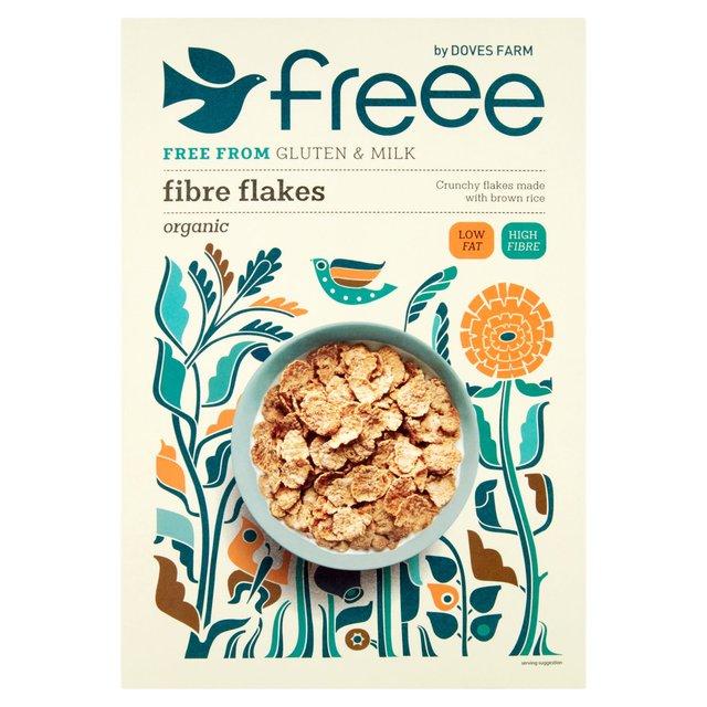 Morrisons: Doves Farm Gluten Free And Organic Fibre Flakes 375g