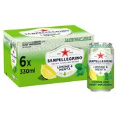 Sanpellegrino Lemon And Mint Infusion