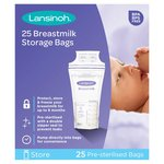 Lansinoh Breastmilk 25 Storage Bags
