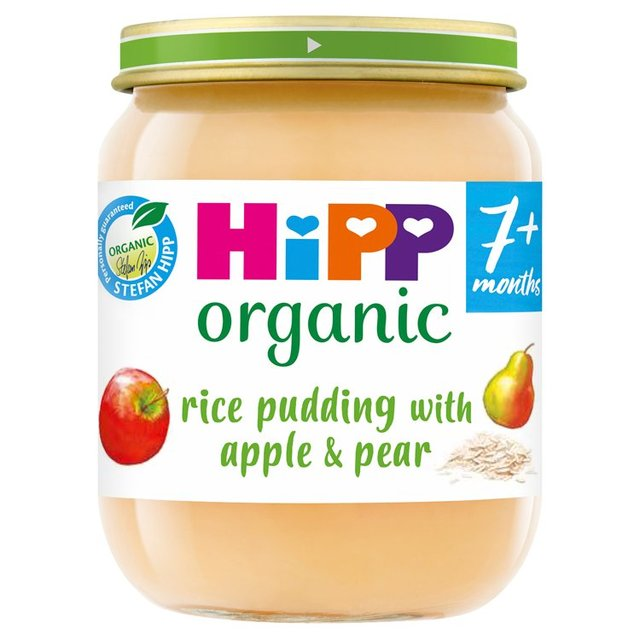 Hipp Organic Rice Pudding With Apple & Pear 7+ Months