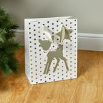 Morrisons Christmas Large Gift Bag Cute Baby Reindeer