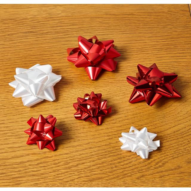 Morrisons Christmas Gift Bows Pack Red & Morrisons: Morrisons Christmas Gift Bows Pack Red (Product Information)