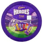 Cadbury Heroes Chocolate Premier League Tin