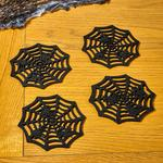Morrisons Halloween Spider Web Coasters