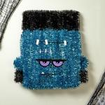 Morrisons Halloween Tinsel Frankie Decoration