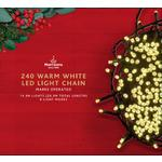 Morrisons 240 8-Function Warm White Tree Lights