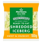 Morrisons Market St Shredded Lettuce