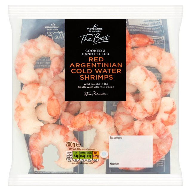 Morrisons The Best Argentinian Red Cold Water Prawns
