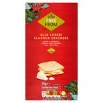 Morrisons Free From Blue Cheese Crackers