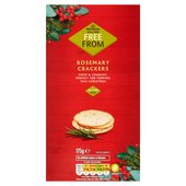 Morrisons Free From Rosemary Crackers