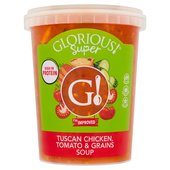 Glorious Super Soups Tuscan Chicken, Tomato & Grains