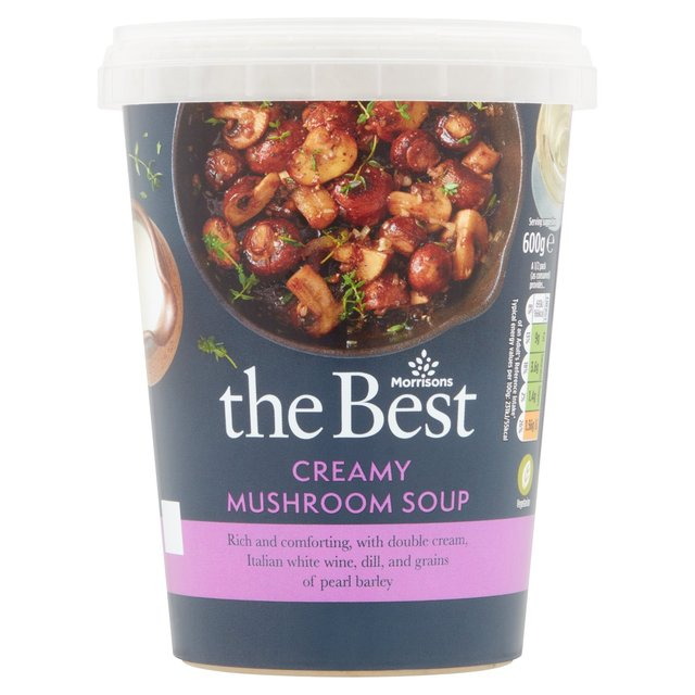Morrisons The Best Mushroom Soup