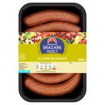 Shazans Select 6 Lamb Sausages