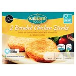 Salaam Foods 2 Breaded Chicken SteakS
