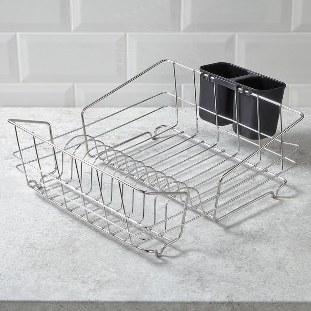 Morrisons Stainless Steel Dish Drainer