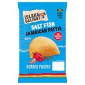 Island Delight Salt Fish Jamaican Crust Pattie