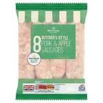 Morrisons Butchers Style 8 Pork & Bramley Apple Sausage
