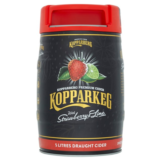 Kopparkeg Strawberry & Lime 4%