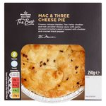 Morrisons The Best Three Cheese Mac N Cheese Open Pie