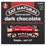 Eat Natural Fruit & Nut Bars Dark Chocolate With Cranberries & Macadamias