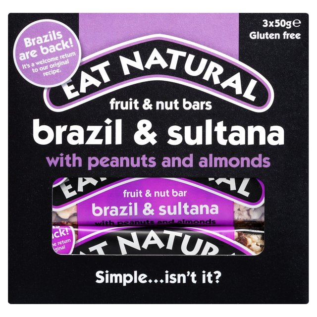 Eat Natural Fruit & Nut Bars Almond & Sultana With Peanuts & Apricots