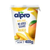 Alpro More Fruit No Added Sugars Mango Yogurt