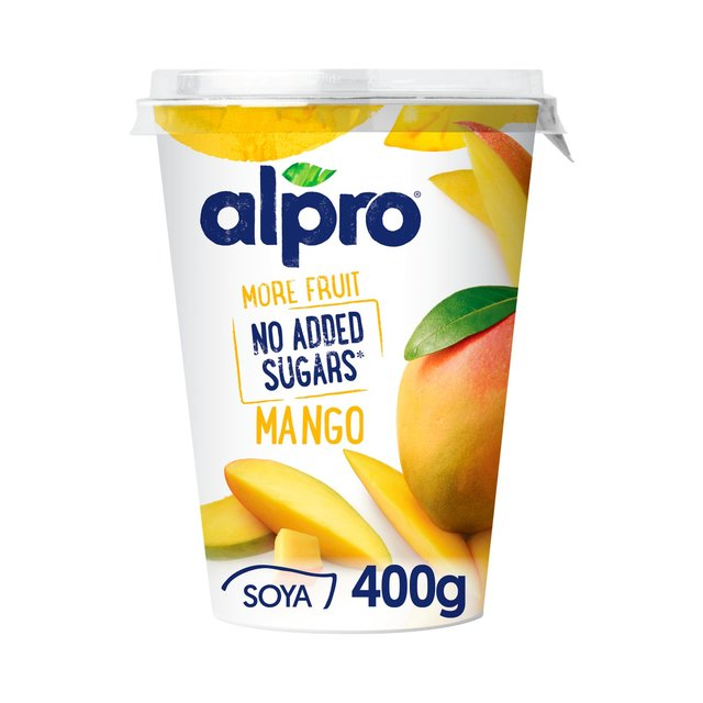 Alpro More Fruit No Added Sugars Mango Yoghurt Alternative