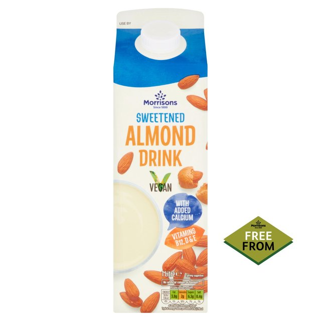 Morrisons Sweetened Almond Milk