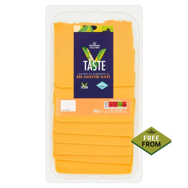 Morrisons V Taste Free From Red Leicester