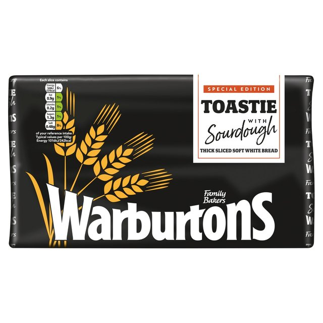 Warburtons White Toastie Sour Dough