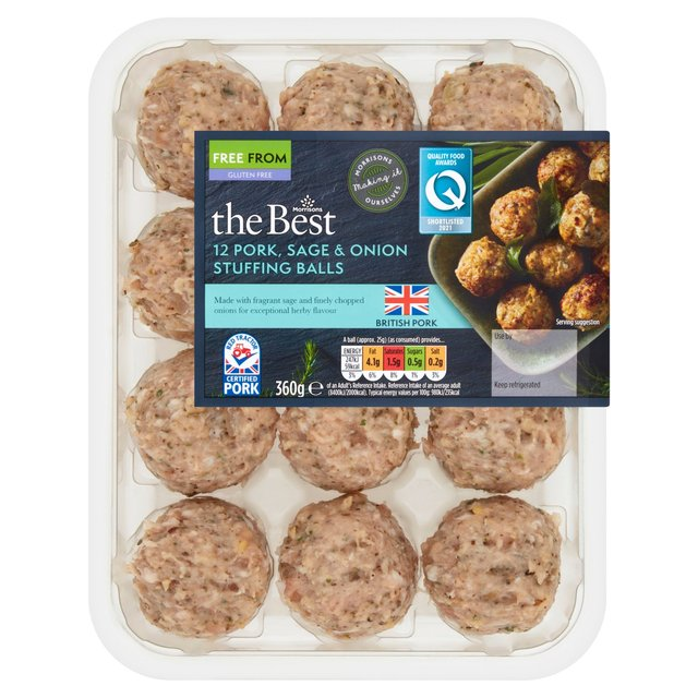 Morrisons The Best Sage & Onion Stuffing Balls