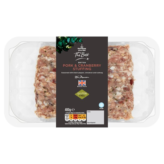 Morrisons The Best Pork & Cranberry Stuffing