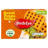 Birds Eye 8 Sweet Potato Waffles 464G