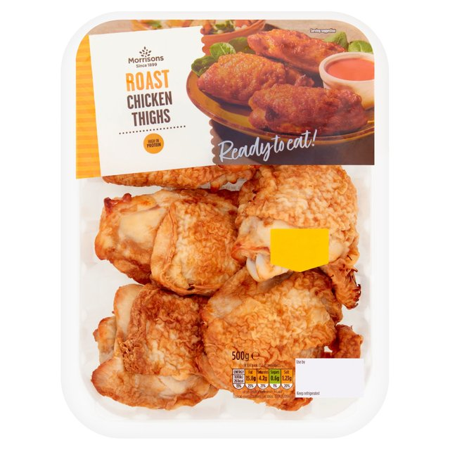 Morrisons Ready To Eat Roast Chicken Thighs